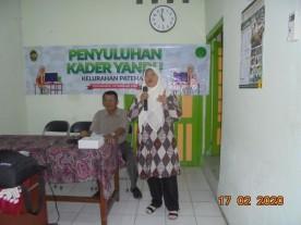 Penyuluhan Kader Yandu Kelurahan Patehan
