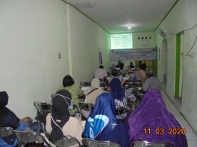 Sosialisasi Literasi Kelurahan Patehan, Tanggal 11 Maret 2020