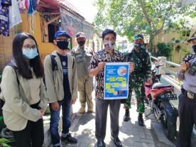 Sosialisasi Program Penegakan Protokol Kesehatan COVID-19  Kelurahan Patehan