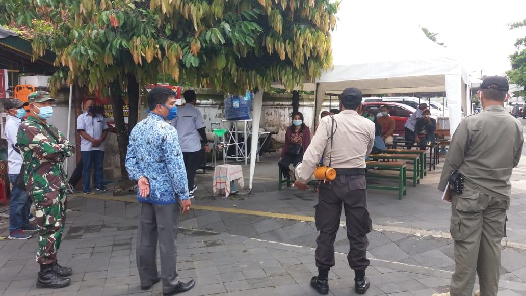 Penegakan Protokol Kesehatan Covid-19 di Wilayah Taman Sari